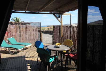 Cute Cabaña ARRIETA beach+WIFI - disc for 7 days - Chalet