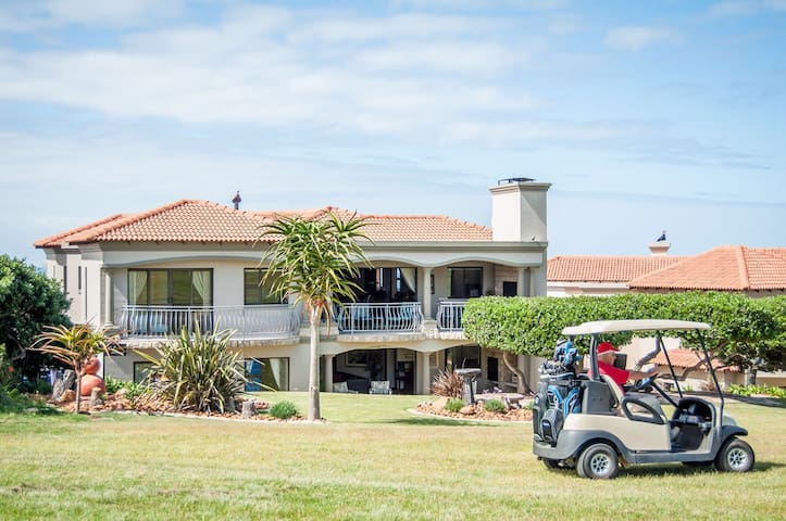 GolfersDream .GolfersDream is  situated in the Mossel Bay Golf Estate in the heart of the beautiful Garden Route. You will enjoy the nature, peace of mind with 24hour manned security gates and  5 star accommodation. What you see is what you will get.