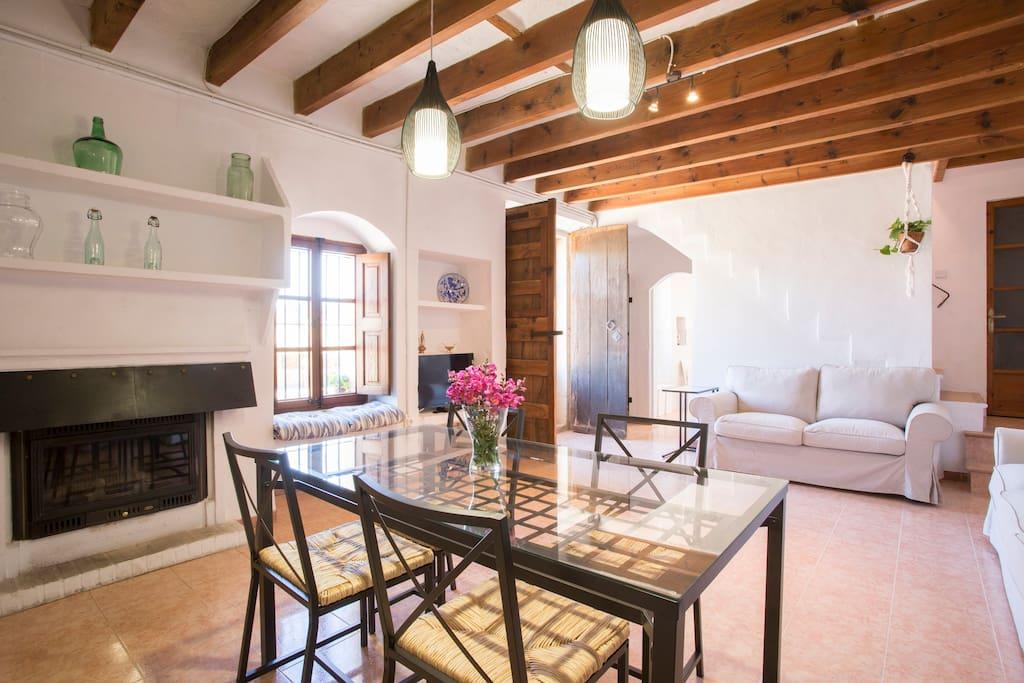 Living room , main house