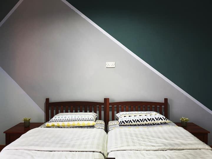 U.C Private Lodge - Honeymoon Room (2 Pax)