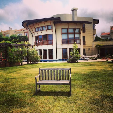 Private Royal Villa 5+2 Pool Jakuzi Lift Sea View - Sarıyer - House