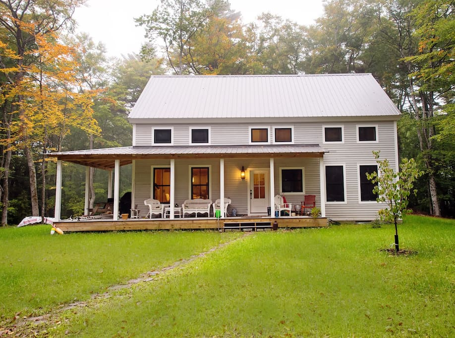 Updated Farmhouse with wrap around porch