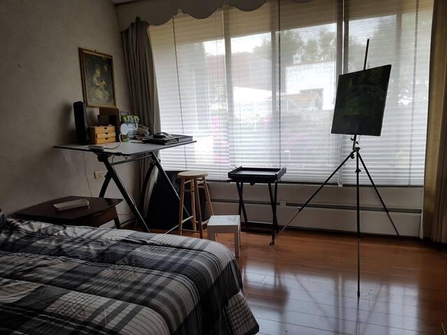 Casa Fuente del Olivo,silent sunny room