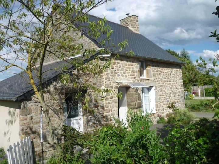Maison au coeur de la baie du Mont Saint-Michel