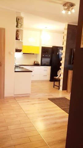 Spacious 2 bed apartment near to Wrocław/Opole
