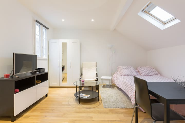 Studio Poissy au centre ville - Poissy - Appartement