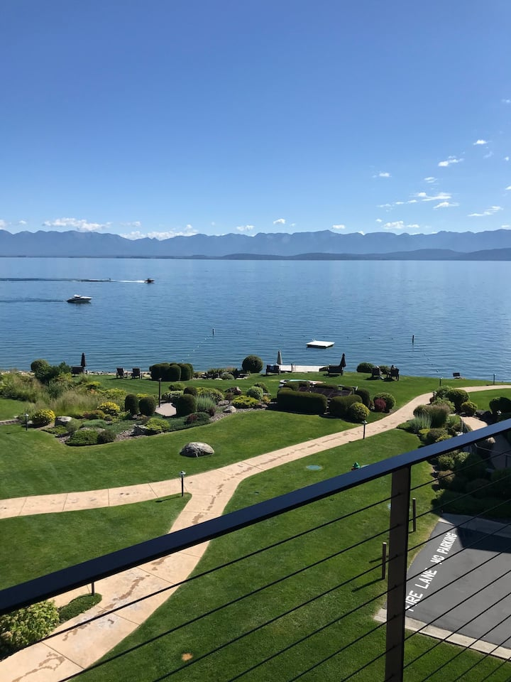 Flathead Waterfront 2BR/2BA Condo Top Floor