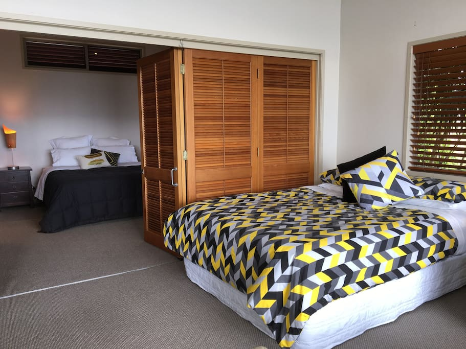 View from Rear of Lounge into Master Bedroom