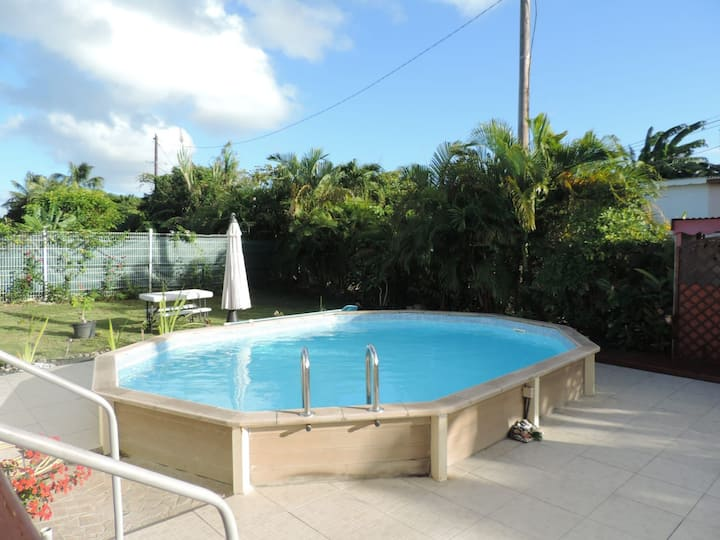 Villa ixora avec piscine privée