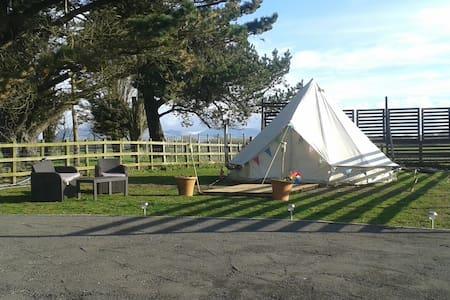 Yurt Glamping on Anglesey - Brynsiencyn