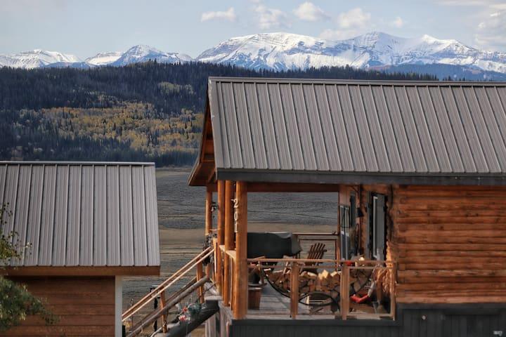 Bridger Teton-Wyoming Range Rustic Mountain Cabin