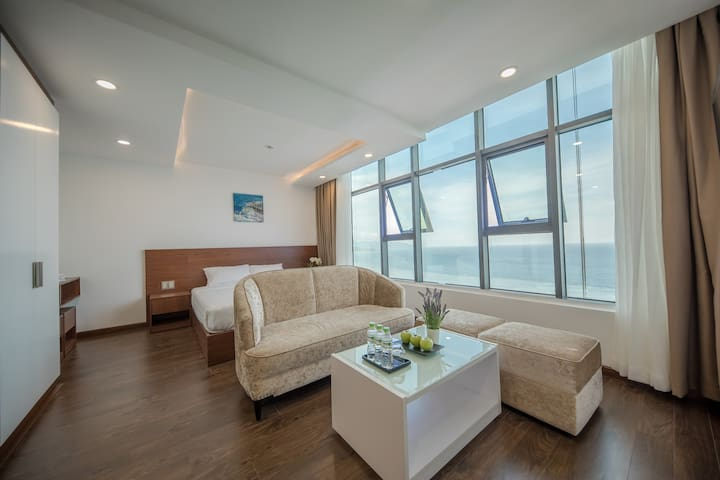 Sun&Sea MuongThanh- Studio Deluxe 2 King Beds