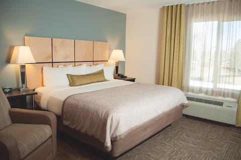 Extended Stay Private Rooms with In-Suite Kitchens