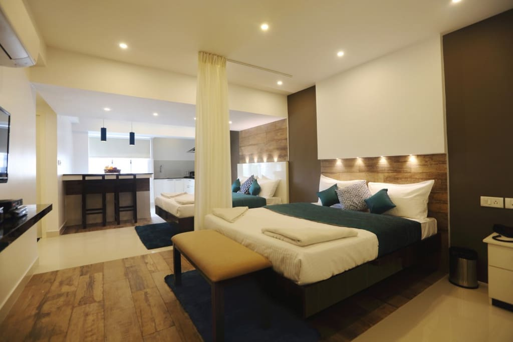 Studio apartment near apollo greams road 402 serviced apartments for rent in chennai tamil for Single bedroom flats for rent in chennai