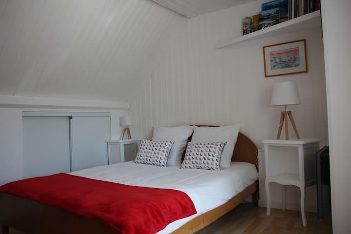 Chambre douillette  au calme - Pays de Lorient
