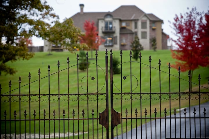 Street View of Gated Estate