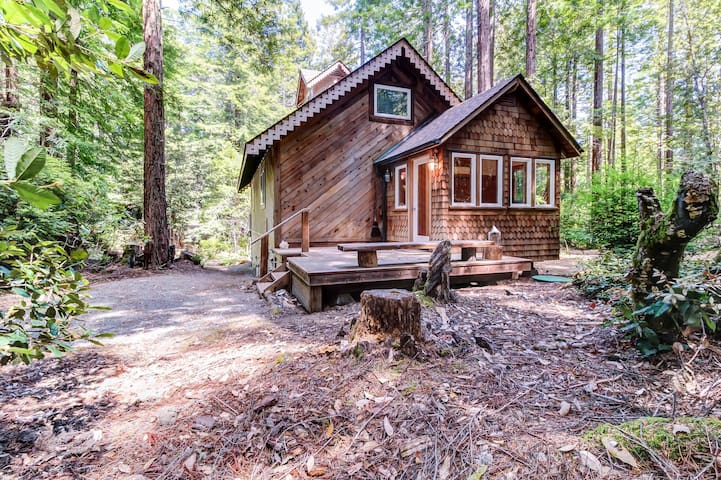 Cozy Mendocino cottage with gorgeous views & relaxing, quiet atmosphere
