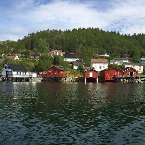 Båthus i Råkvåg/Boathouse in Råkvåg - Råkvåg