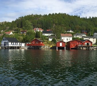 Båthus i Råkvåg/Boathouse in Råkvåg - Råkvåg - Guesthouse