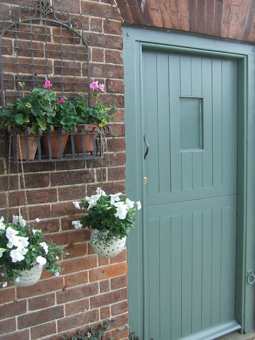 the stable front door to provide plenty of light and fresh air