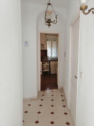 Entrada a la cocina.