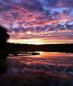 Quiet Lakefront Fishing Paradise - Hawley - Haus