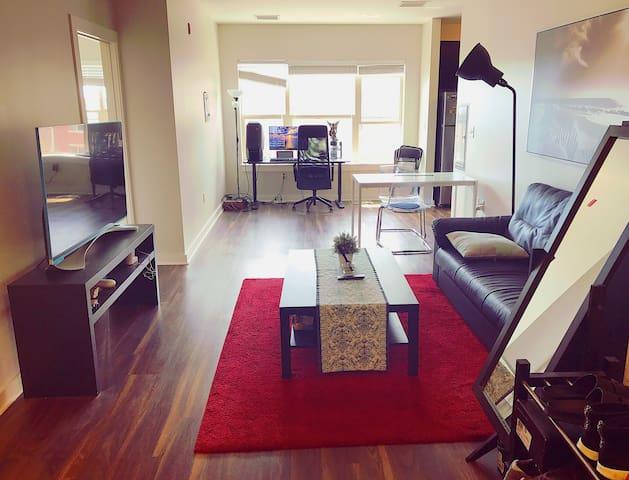 Malden luxury one bedroom apartment