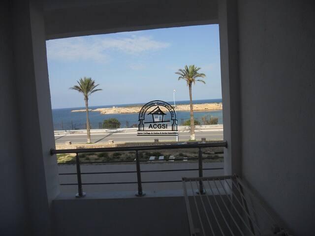 bel appartement avec  superbe vue sur la mer - Monastir - Appartement