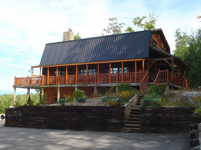 Beautiful European Log Cabin