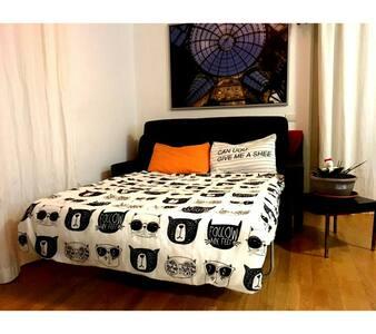 A couch in Bergamo