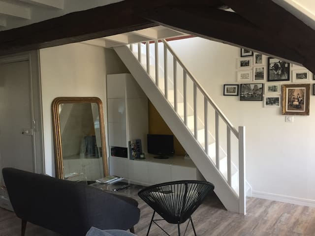 Duplex de charme - Compiègne - Apartament