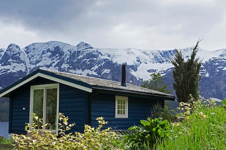 Helle Gard - Cozy cabin - fjord and glacier view