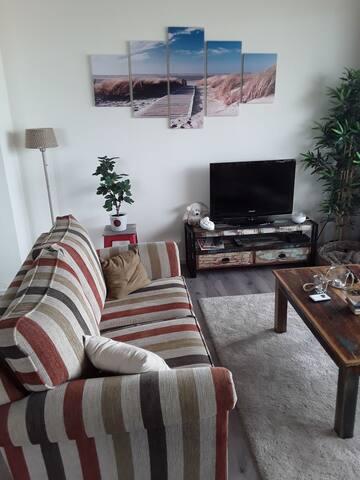 Appartement in de levendige badplaats Kijkduin