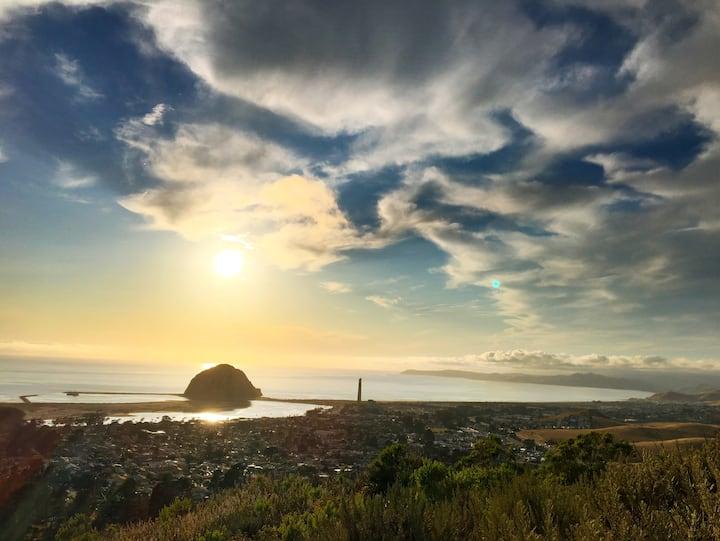 Coastal Paradise: Morro Rock Views & Pool, Hot Tub