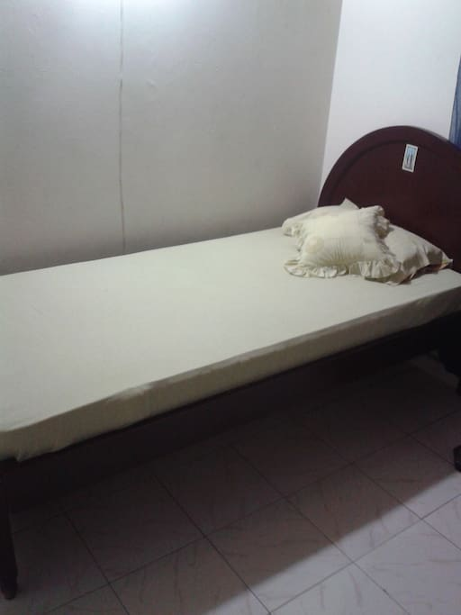 una cama confortable