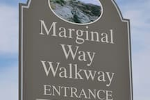 Marginal Way Walkway within walking distance from condo