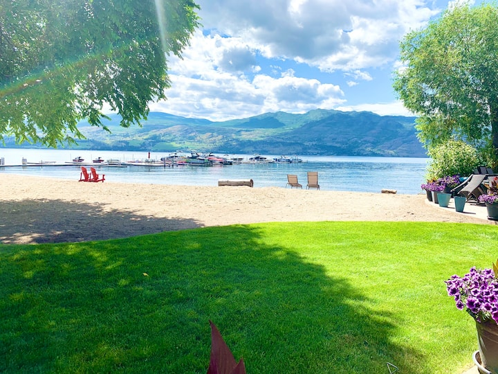 On the Beach,Lake, Pool, Okanagan Wine Trail,Golf
