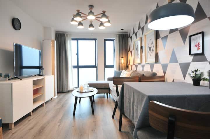 泰富滢寓,嘉兴南湖区loft精品两居公寓