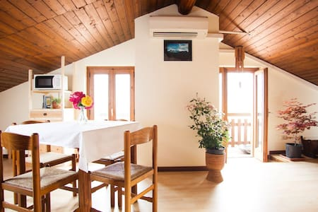Romantic attic near Lake Maggiore - Casalzuigno