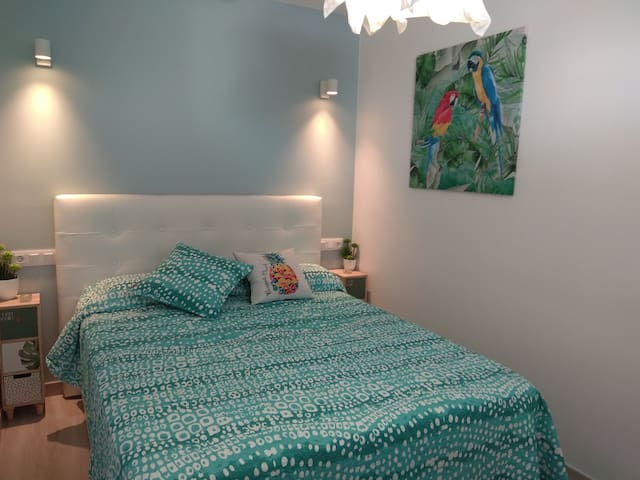 150cm wide double bed