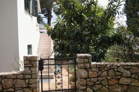 IslandHouse,2BD,terrace,pines&peace - Island Pašman - Casa