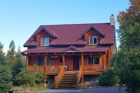 Creek side mountain cabin retreat - Mount Pleasant - Skáli
