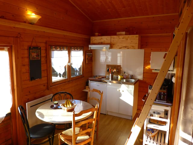 House Chalet between earth and sea Normandy Manche