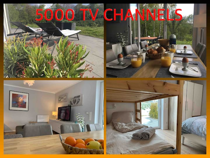 FOREST VIEW Luxe Apartment / private terrace *****