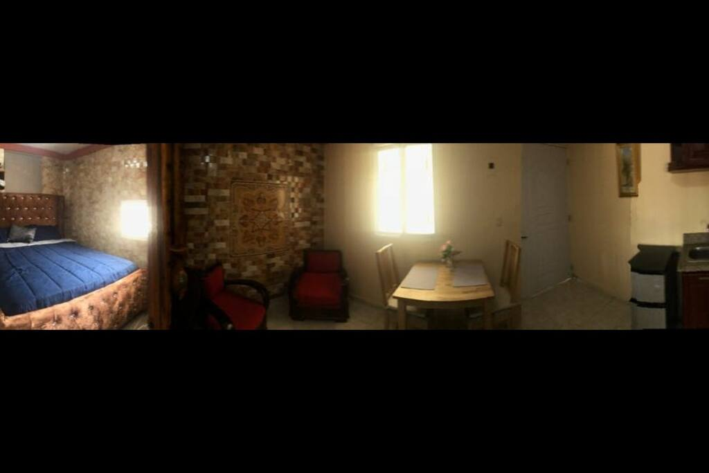Panoramic View of the Apartment