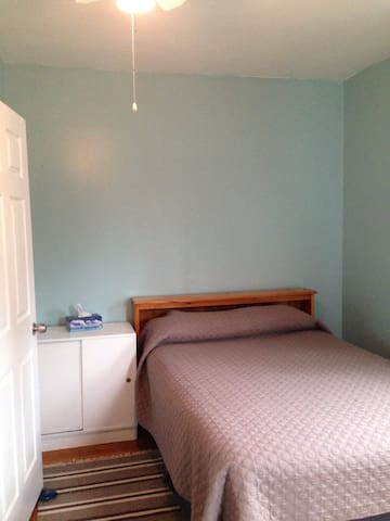 Clean and quiet room in Roslindale