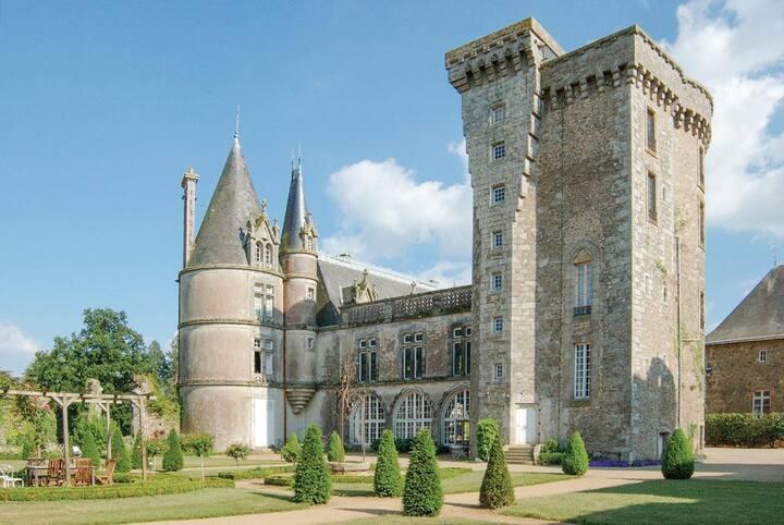 Chateau Des Poetes Keep at Pays de la Loire