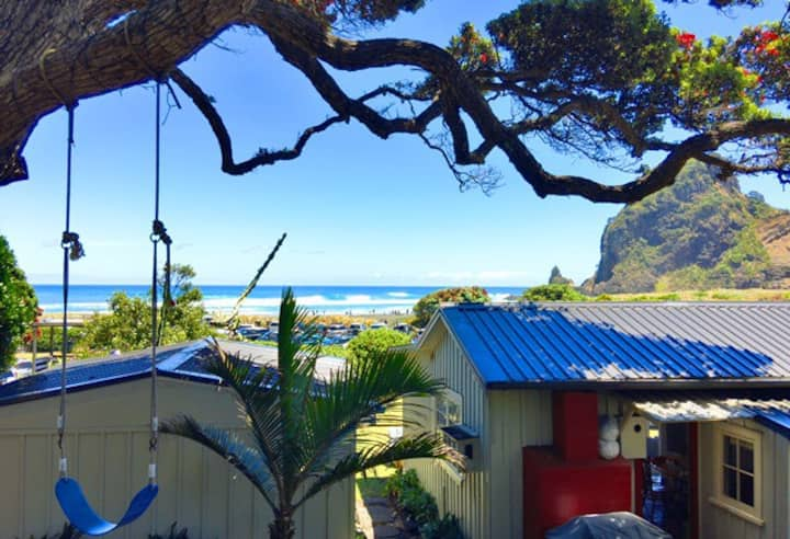 Eibsee Cottage - Piha Beach Front