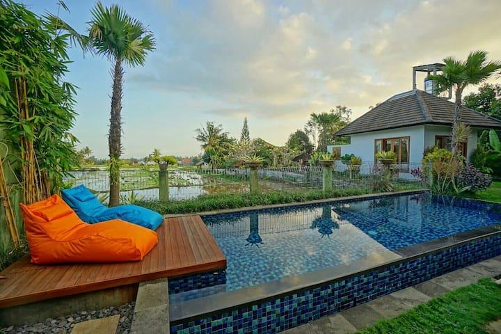 3-BR Villa, Clean, Cozy, Close to Ubud & Nice View