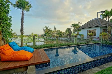 3BR Clean, Cozy Pool Villa close to Ubud Center